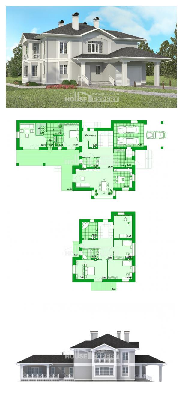 Проект дома 360-001-П   House Expert