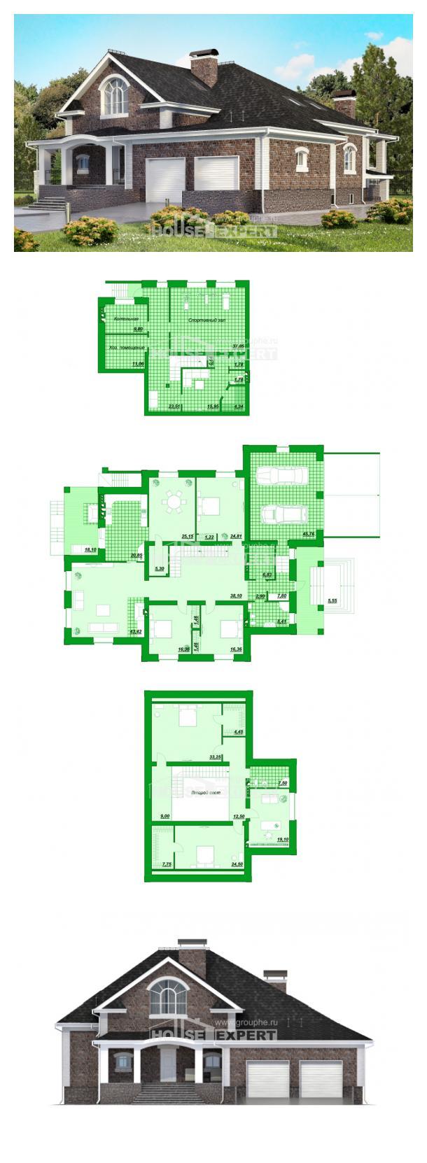 Проект дома 490-001-П   House Expert