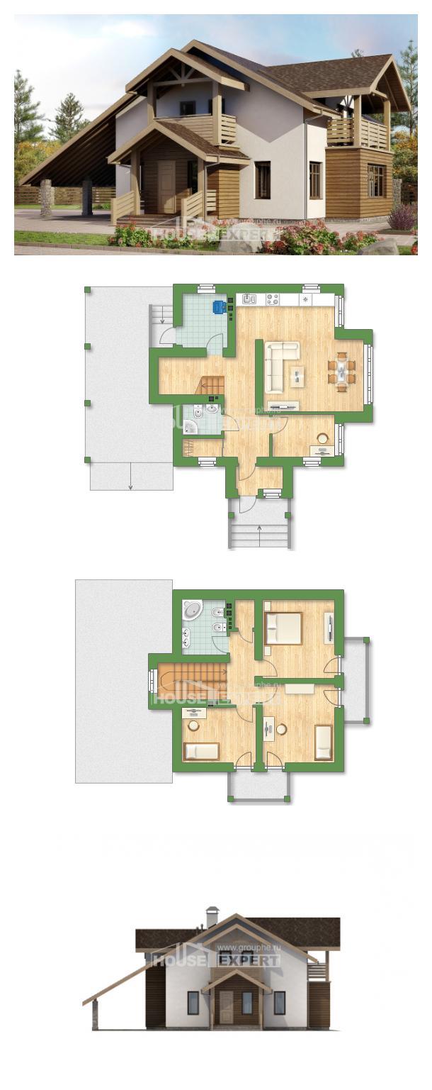 Проект дома 155-010-Л | House Expert