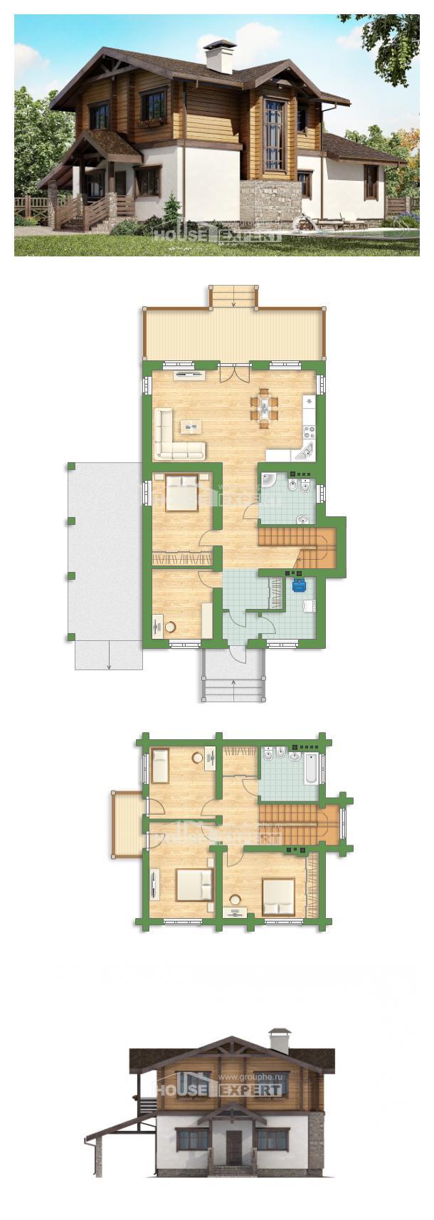 Проект дома 170-004-Л | House Expert