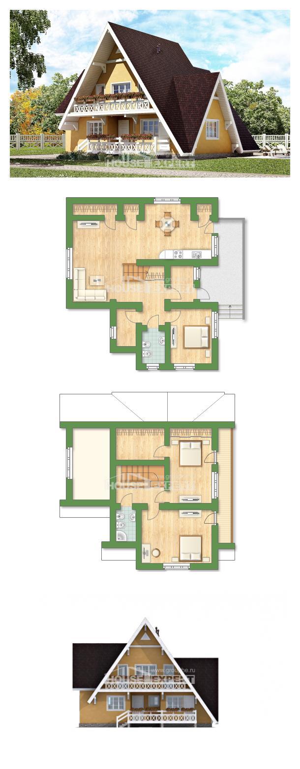Проект дома 155-008-П | House Expert