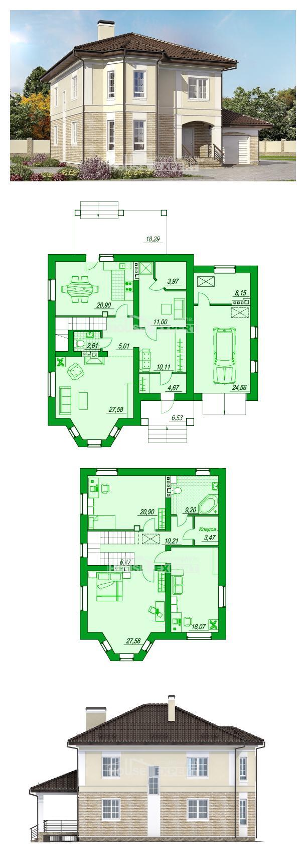 Проект дома 220-007-П | House Expert