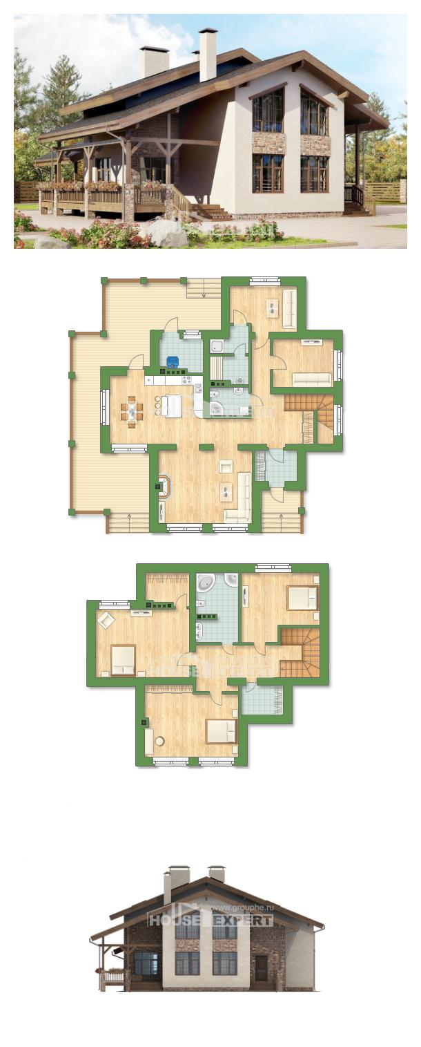 Проект дома 240-003-Л | House Expert