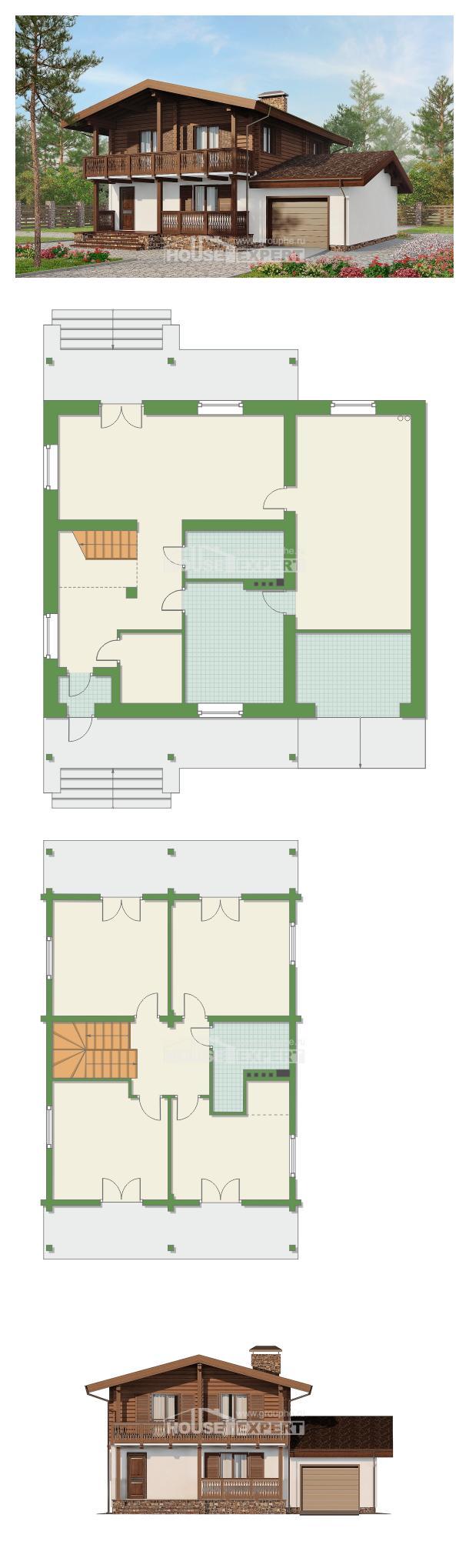 Проект дома 200-011-П   House Expert
