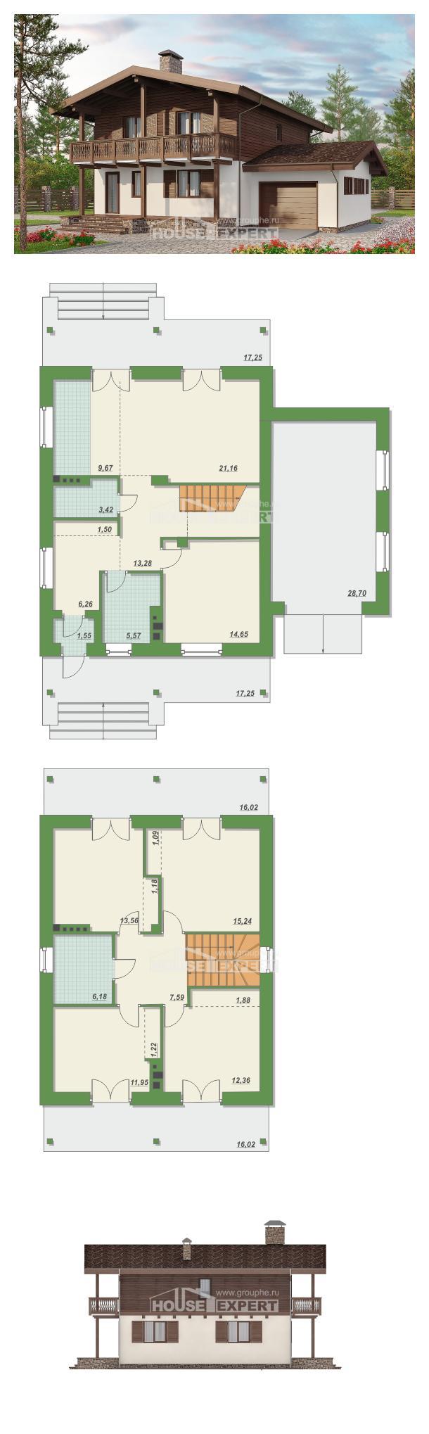 Проект дома 180-018-Л | House Expert
