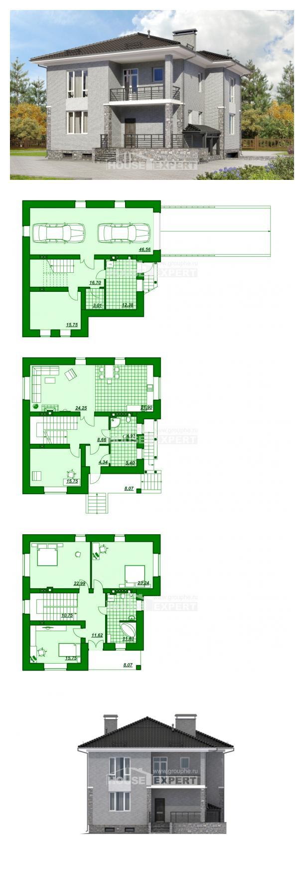 Проект дома 275-004-П | House Expert