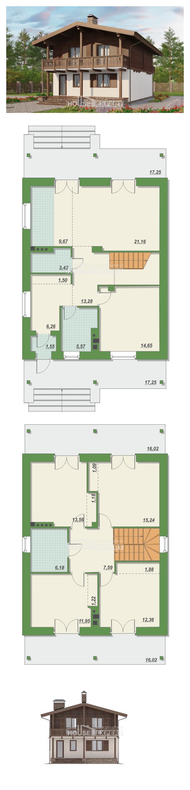 Проект дома 150-016-Л | House Expert