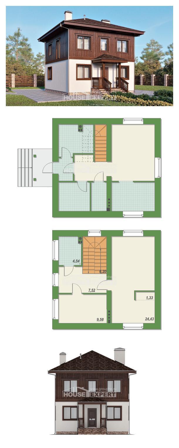 Проект дома 100-006-Л   House Expert