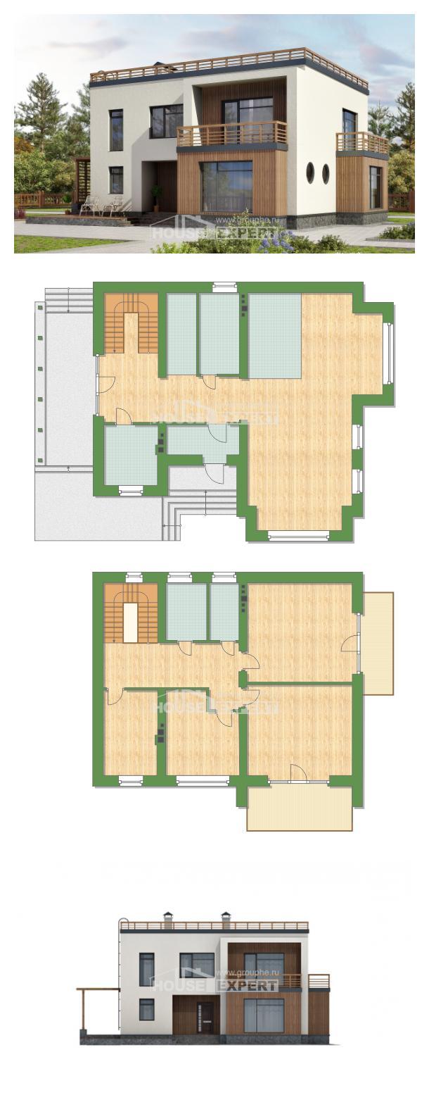 Проект дома 215-002-Л   House Expert